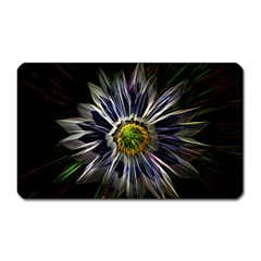 Flower Structure Photo Montage Magnet (rectangular) by BangZart