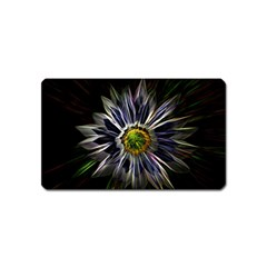 Flower Structure Photo Montage Magnet (name Card) by BangZart