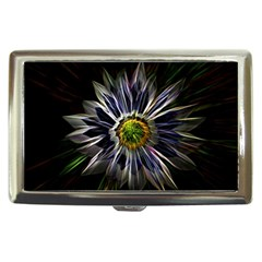 Flower Structure Photo Montage Cigarette Money Cases by BangZart