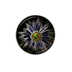 Flower Structure Photo Montage Hat Clip Ball Marker