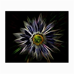 Flower Structure Photo Montage Small Glasses Cloth by BangZart