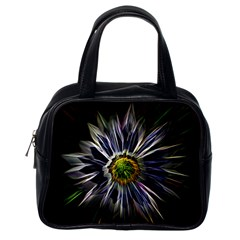 Flower Structure Photo Montage Classic Handbags (one Side) by BangZart