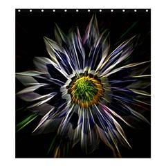 Flower Structure Photo Montage Shower Curtain 66  X 72  (large)  by BangZart