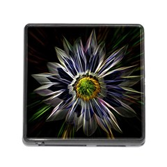 Flower Structure Photo Montage Memory Card Reader (square)