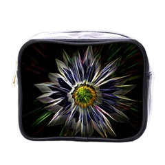 Flower Structure Photo Montage Mini Toiletries Bags by BangZart