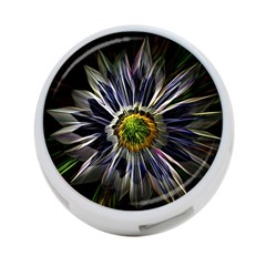 Flower Structure Photo Montage 4 Port Usb Hub (two Sides)  by BangZart