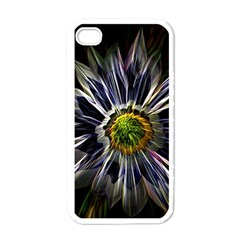 Flower Structure Photo Montage Apple Iphone 4 Case (white)