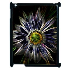 Flower Structure Photo Montage Apple Ipad 2 Case (black) by BangZart