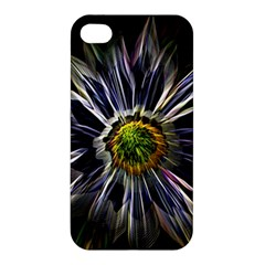Flower Structure Photo Montage Apple Iphone 4/4s Hardshell Case