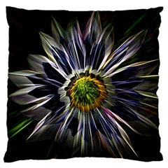 Flower Structure Photo Montage Large Cushion Case (two Sides)