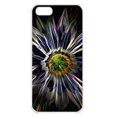 Flower Structure Photo Montage Apple Iphone 5 Seamless Case (white) by BangZart