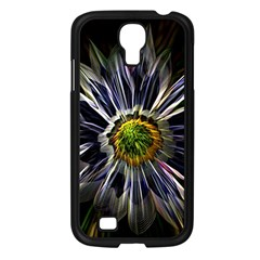 Flower Structure Photo Montage Samsung Galaxy S4 I9500/ I9505 Case (black) by BangZart