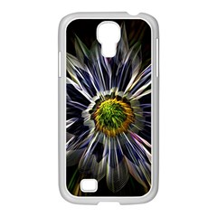 Flower Structure Photo Montage Samsung Galaxy S4 I9500/ I9505 Case (white)