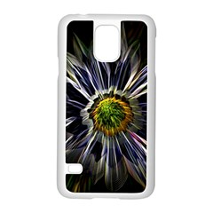 Flower Structure Photo Montage Samsung Galaxy S5 Case (white) by BangZart