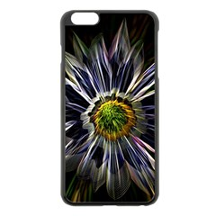 Flower Structure Photo Montage Apple Iphone 6 Plus/6s Plus Black Enamel Case by BangZart