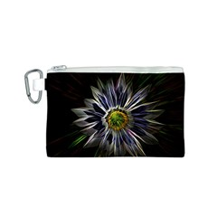 Flower Structure Photo Montage Canvas Cosmetic Bag (s) by BangZart