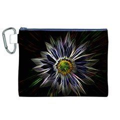 Flower Structure Photo Montage Canvas Cosmetic Bag (xl) by BangZart
