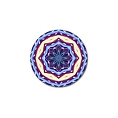 Mandala Art Design Pattern Golf Ball Marker (4 Pack)