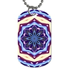 Mandala Art Design Pattern Dog Tag (two Sides)