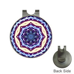 Mandala Art Design Pattern Hat Clips With Golf Markers