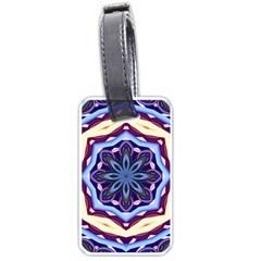 Mandala Art Design Pattern Luggage Tags (one Side)  by BangZart