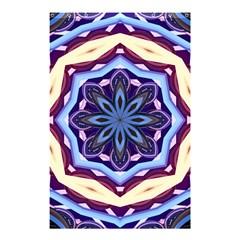 Mandala Art Design Pattern Shower Curtain 48  X 72  (small)  by BangZart