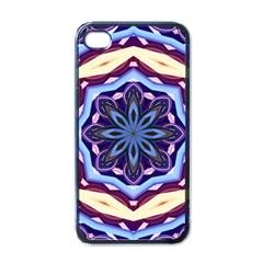 Mandala Art Design Pattern Apple Iphone 4 Case (black)
