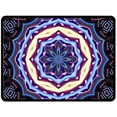 Mandala Art Design Pattern Double Sided Fleece Blanket (large)  by BangZart