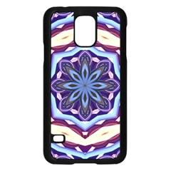 Mandala Art Design Pattern Samsung Galaxy S5 Case (black)
