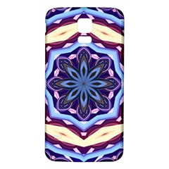 Mandala Art Design Pattern Samsung Galaxy S5 Back Case (white)