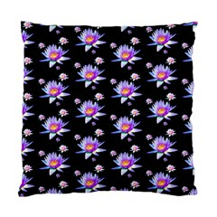 Flowers Pattern Background Lilac Standard Cushion Case (one Side)