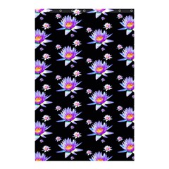 Flowers Pattern Background Lilac Shower Curtain 48  X 72  (small)  by BangZart