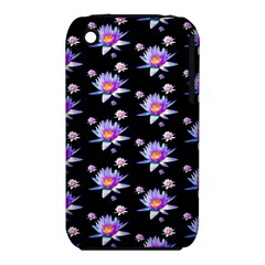 Flowers Pattern Background Lilac Iphone 3s/3gs by BangZart