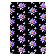 Flowers Pattern Background Lilac Flap Covers (s)  by BangZart
