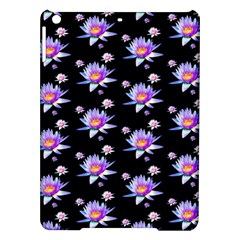 Flowers Pattern Background Lilac Ipad Air Hardshell Cases