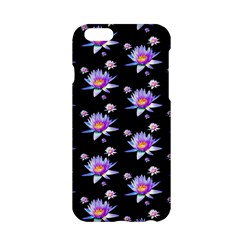 Flowers Pattern Background Lilac Apple Iphone 6/6s Hardshell Case