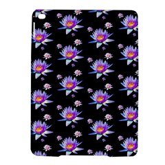 Flowers Pattern Background Lilac Ipad Air 2 Hardshell Cases by BangZart