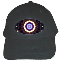 Mandala Art Design Pattern Black Cap by BangZart