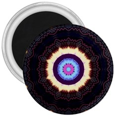 Mandala Art Design Pattern 3  Magnets by BangZart