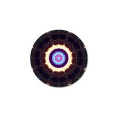 Mandala Art Design Pattern Golf Ball Marker (4 Pack) by BangZart