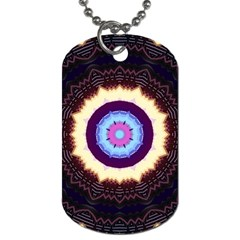 Mandala Art Design Pattern Dog Tag (two Sides) by BangZart