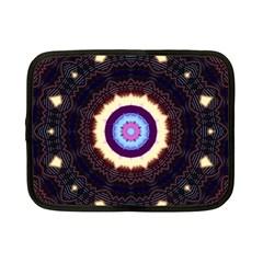 Mandala Art Design Pattern Netbook Case (small)  by BangZart