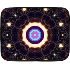 Mandala Art Design Pattern Fleece Blanket (mini) by BangZart
