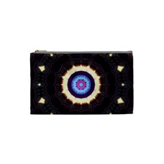 Mandala Art Design Pattern Cosmetic Bag (small)  by BangZart