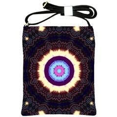 Mandala Art Design Pattern Shoulder Sling Bags by BangZart