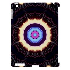 Mandala Art Design Pattern Apple Ipad 3/4 Hardshell Case (compatible With Smart Cover)
