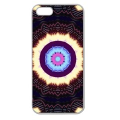 Mandala Art Design Pattern Apple Seamless Iphone 5 Case (clear) by BangZart