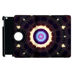 Mandala Art Design Pattern Apple Ipad 3/4 Flip 360 Case by BangZart