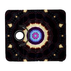 Mandala Art Design Pattern Galaxy S3 (flip/folio) by BangZart