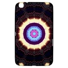 Mandala Art Design Pattern Samsung Galaxy Tab 3 (8 ) T3100 Hardshell Case  by BangZart